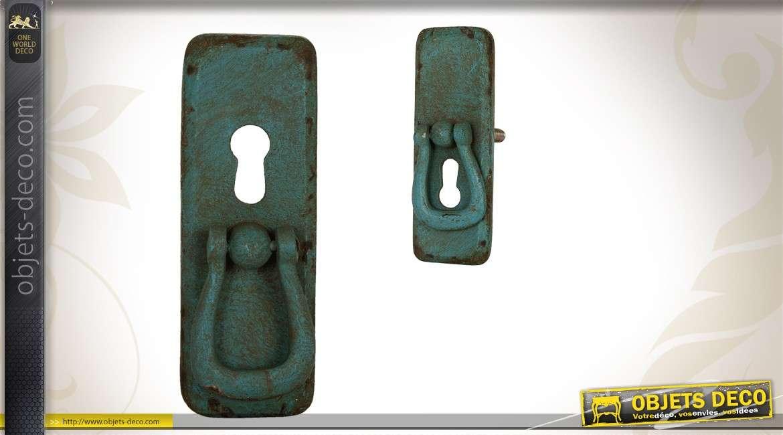 bouton poigne de porte de style ancien en mtal