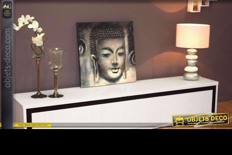 Objet Deco Laque Blanc grand meuble tv design laqué blanc 200 cm