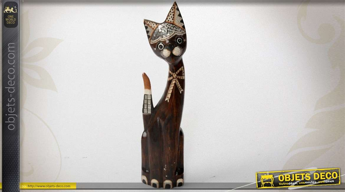 Chat Creer En Bois Decoratif