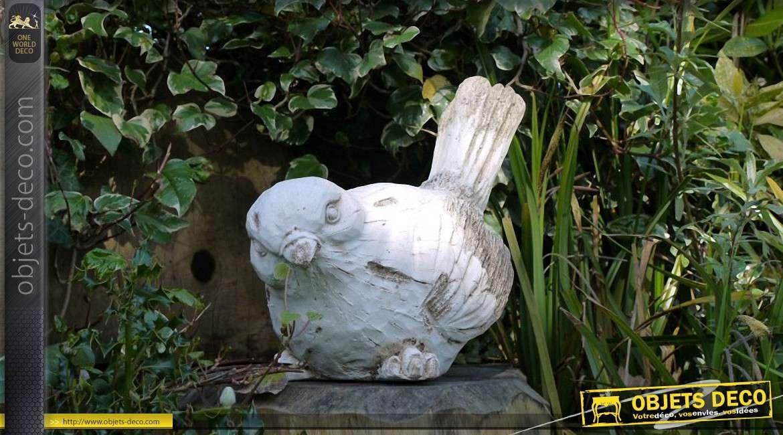 Statuette d corative d 39 oiseau pour int rieur ou ext rieur for Exterieur ou interieur