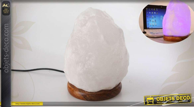 lampe en pierre de sel pour ordinateur. Black Bedroom Furniture Sets. Home Design Ideas