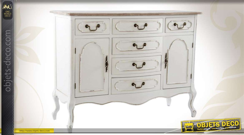 commode de style ancien blanc antique. Black Bedroom Furniture Sets. Home Design Ideas