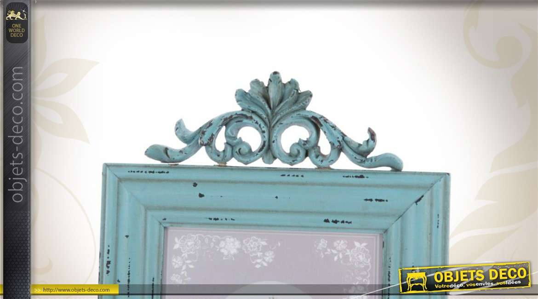 3 cadres photos poser en bois style r tro finition vieillie. Black Bedroom Furniture Sets. Home Design Ideas