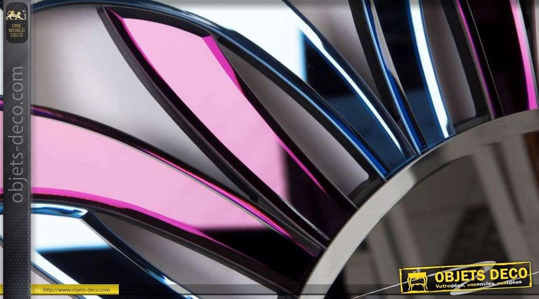 Miroir en forme grande fleur stylis e design 90 cm for Miroirs grandes dimensions