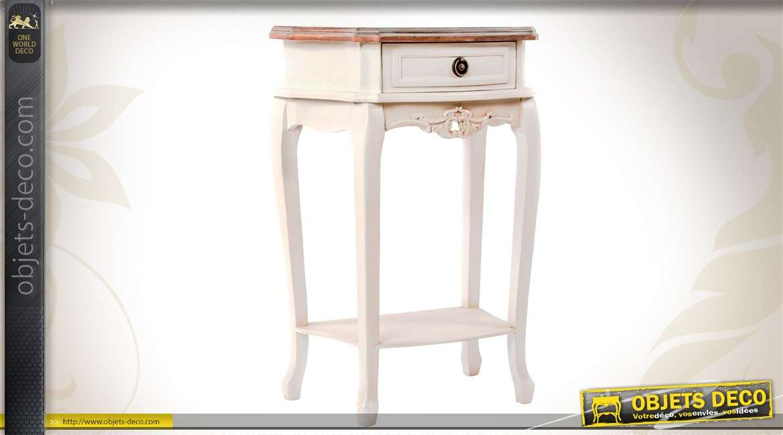 table de chevet style classique. Black Bedroom Furniture Sets. Home Design Ideas