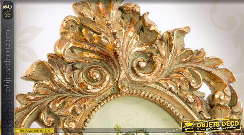 Cadre photo de style baroque finition or l 39 ancienne - Pele mele style industriel ...