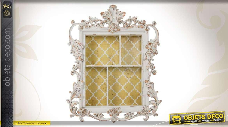 etagere murale baroque blanche. Black Bedroom Furniture Sets. Home Design Ideas