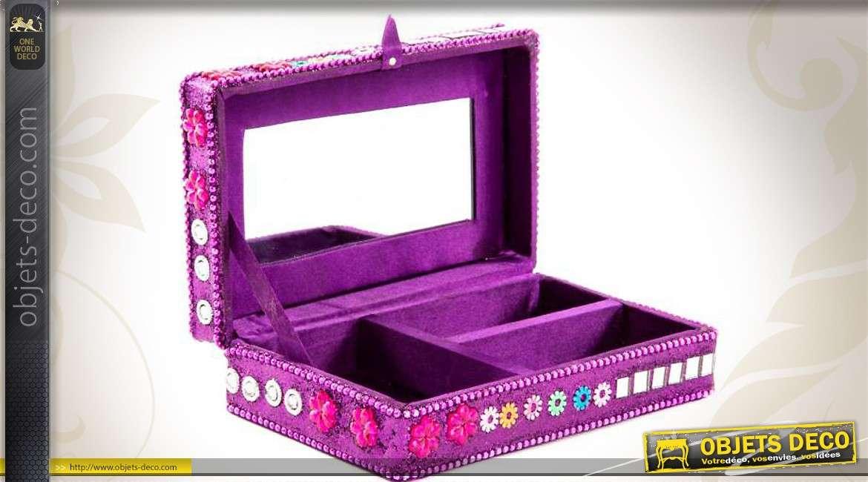 boite a bijoux avec miroir boite bijoux avec miroir. Black Bedroom Furniture Sets. Home Design Ideas