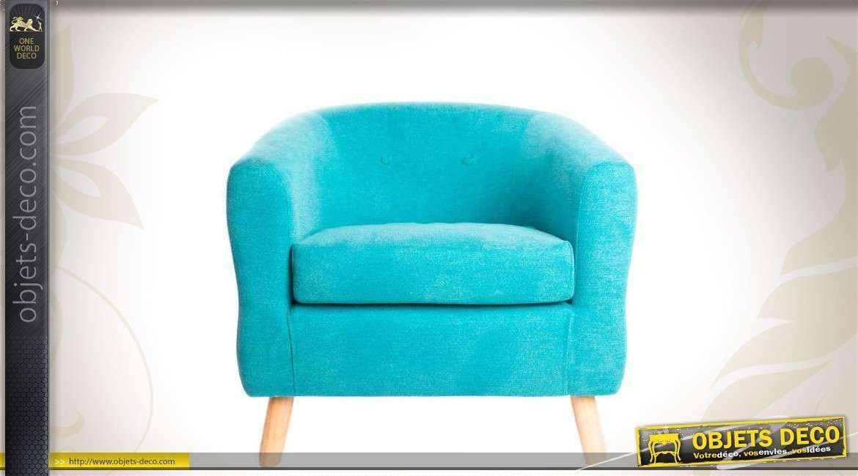 fauteuil cabriolet bois et tissu. Black Bedroom Furniture Sets. Home Design Ideas