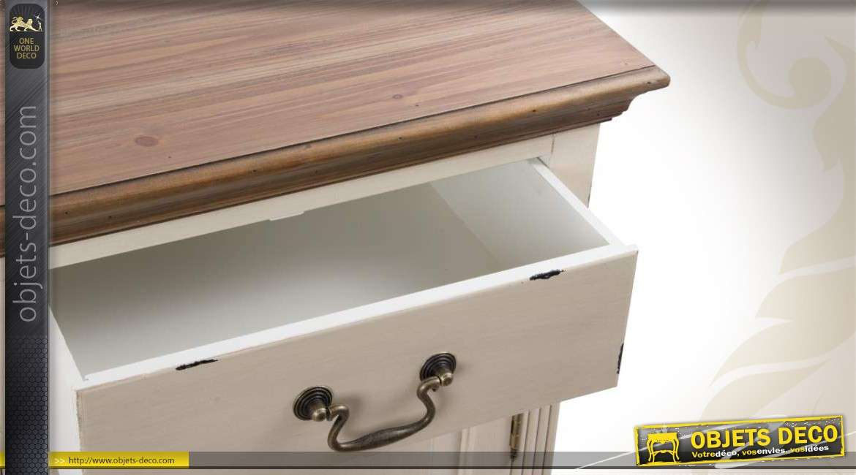 enfilade en bois coloris cr me. Black Bedroom Furniture Sets. Home Design Ideas