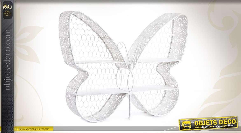 Papillon-Design Verre-etagere