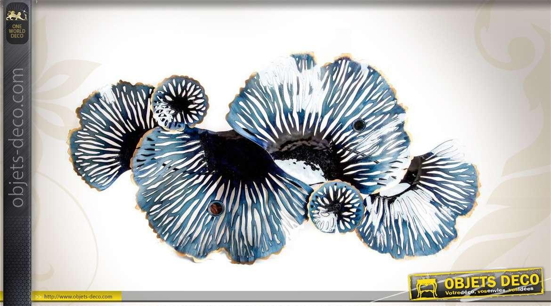 d coration murale corail coloris m tallique. Black Bedroom Furniture Sets. Home Design Ideas