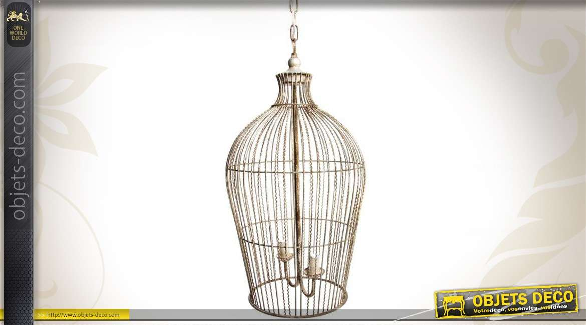 interesting lustre cage oiseau with lustre cage oiseau. Black Bedroom Furniture Sets. Home Design Ideas