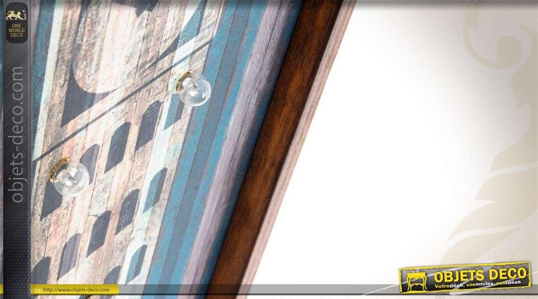 S rie de 3 tableaux lumineux en bois londres new yorkparis - Tableau lumineux new york ...