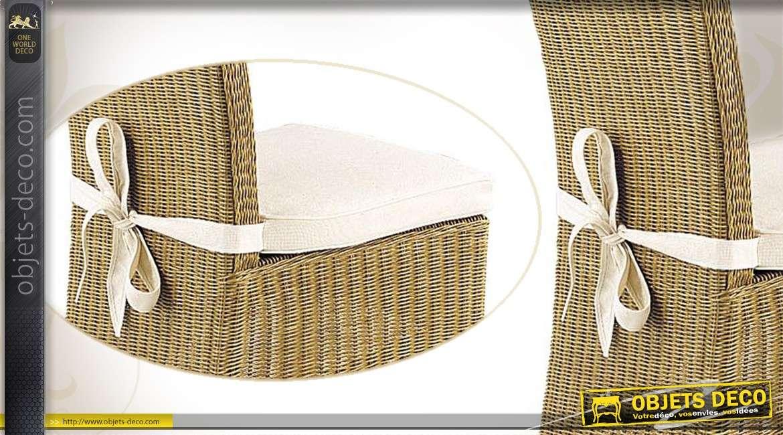 Coussin de chaise 100% coton