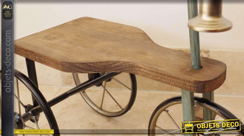 grand tricyle p dales en bois de style vintage 60 cm. Black Bedroom Furniture Sets. Home Design Ideas