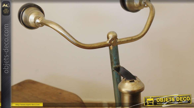 Grand tricyle p dales en bois de style vintage 60 cm for Grand objet deco