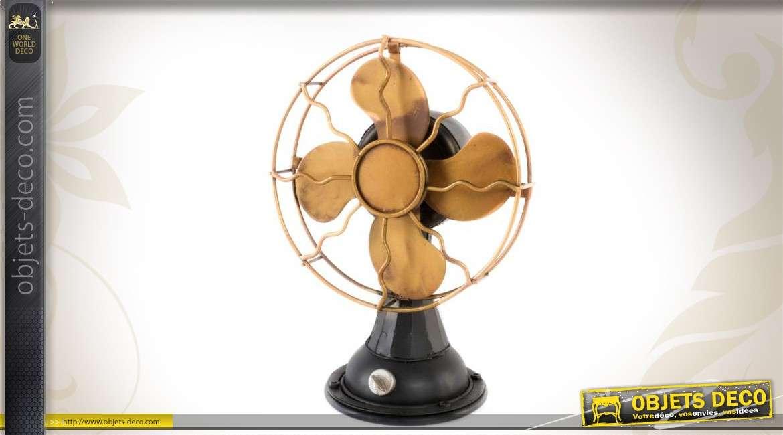 Ventilateur d coratif en m tal - Objet decoratif original ...