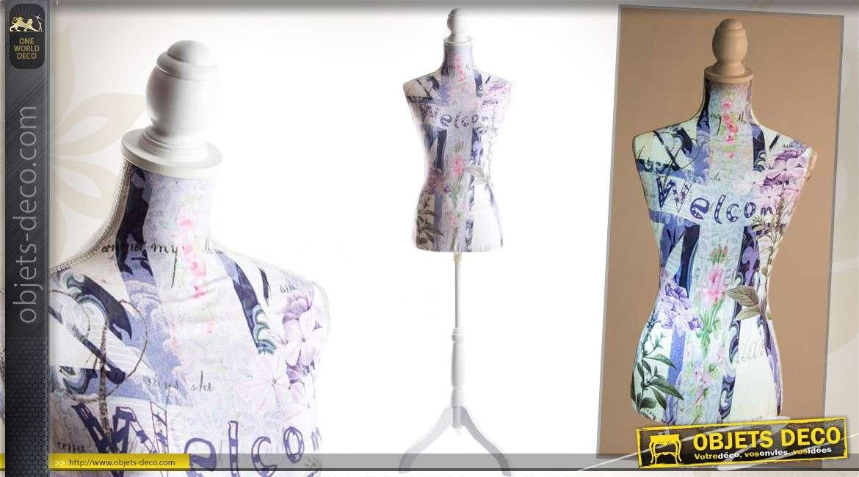 mannequin de couture clairant led style graphique 168 cm. Black Bedroom Furniture Sets. Home Design Ideas