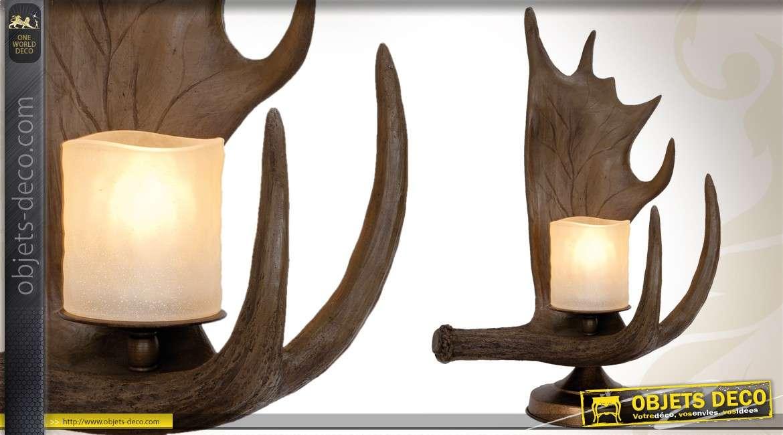 Bois Forme De Lampe En Décorative Table byfg76