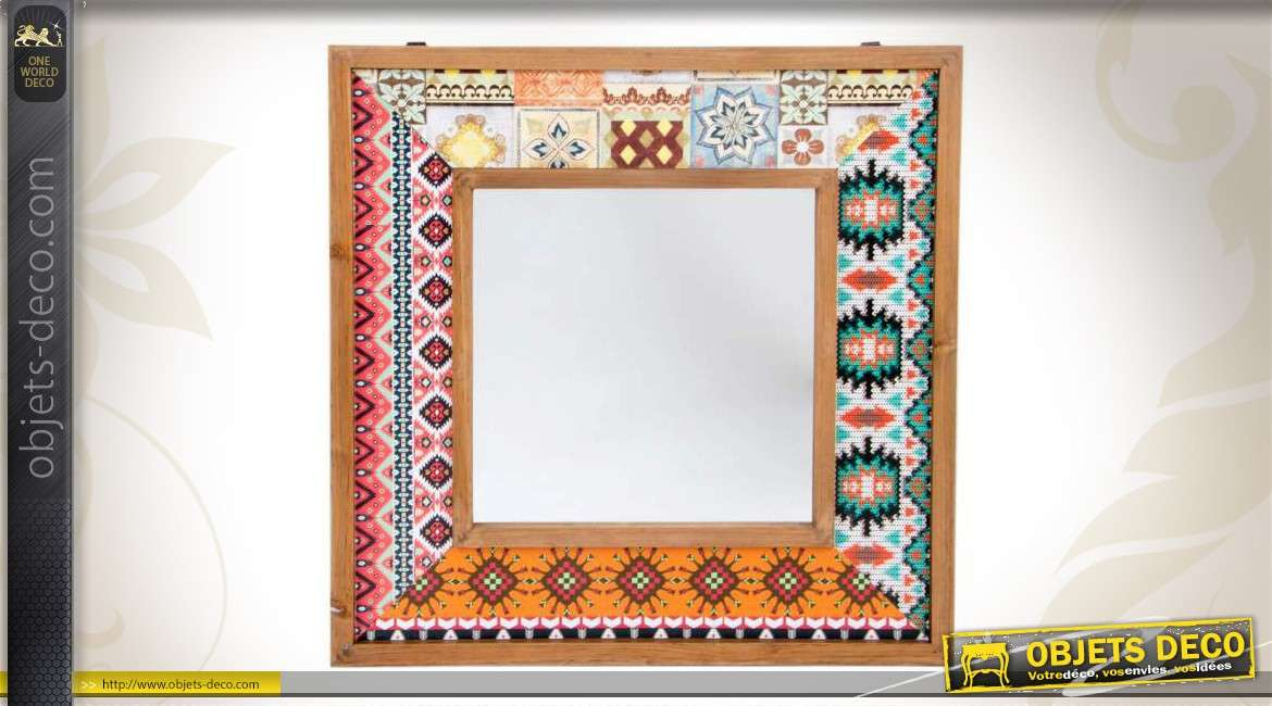 Miroir decoratif free sticker dcoratif miroir autoadhsif for Grand miroir decoratif