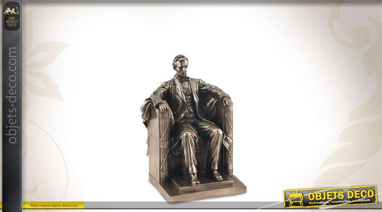 Statuette décorative : Abraham Lincoln