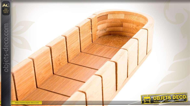 Planche à découper le pain en bambou