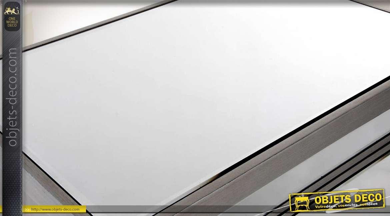 luxueux chiffonnier 5 tiroirs avec habillage en miroir. Black Bedroom Furniture Sets. Home Design Ideas