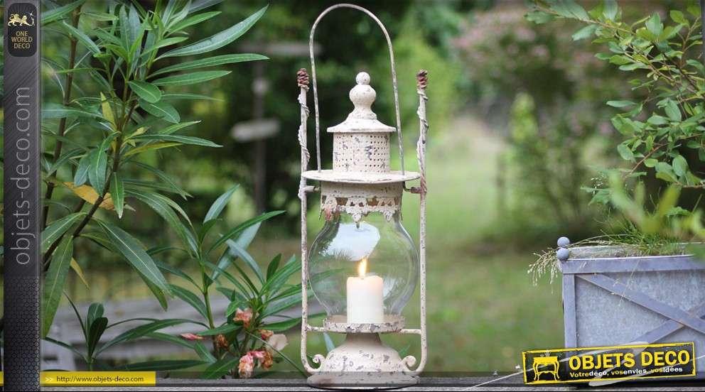 lanterne d corative ancienne. Black Bedroom Furniture Sets. Home Design Ideas