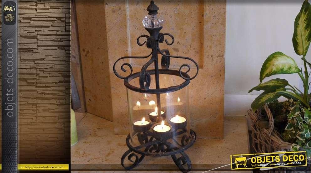 Lanterne décorative vintage à poser