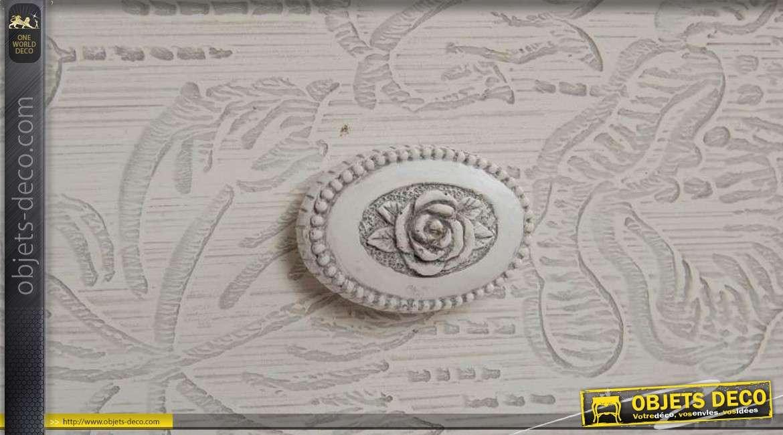 console de style classique patine shabby chic gris clair. Black Bedroom Furniture Sets. Home Design Ideas