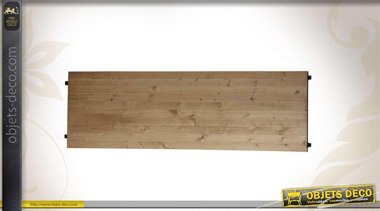 Etagère de jonction en bois et métal 39,5 cm