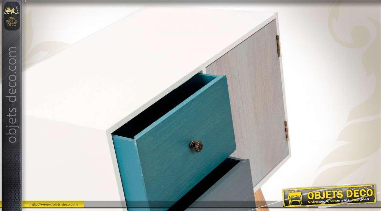 buffet design en bois de style contemporain 3 compartiments. Black Bedroom Furniture Sets. Home Design Ideas