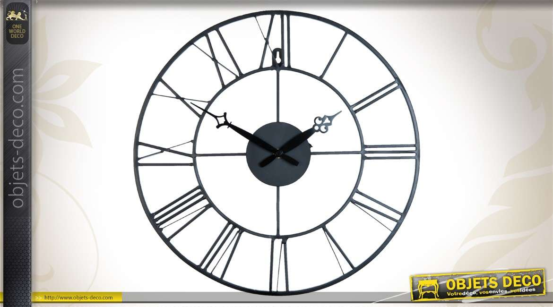 horloge murale en forme d 39 h lice d 39 avion 95 cm. Black Bedroom Furniture Sets. Home Design Ideas