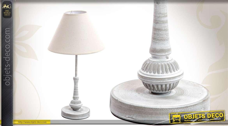 Ancienne Finition Table Lampe Avec De Jour Abat LSMpGUVzq