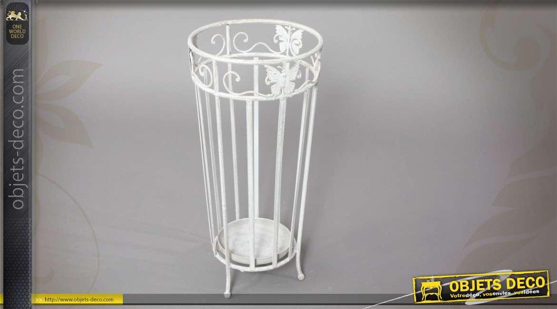 porte parapluie inspiration fer forg motifs papillons. Black Bedroom Furniture Sets. Home Design Ideas