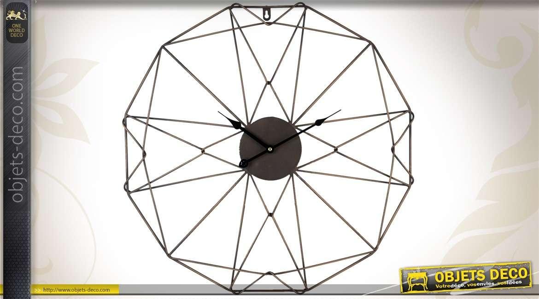 horloge murale contemporaine design gare. Black Bedroom Furniture Sets. Home Design Ideas