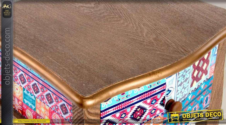 décoré en tiroir avec Table de bois chevet eCxrdoB