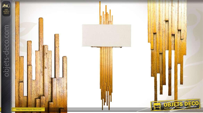 applique murale de style industriel marron antique. Black Bedroom Furniture Sets. Home Design Ideas