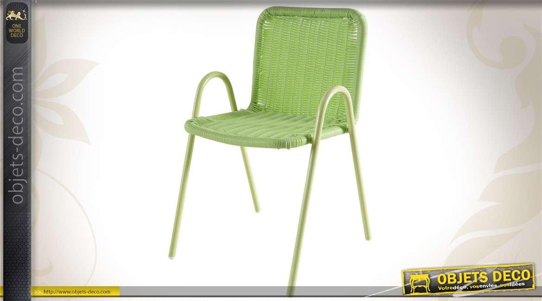 Contemporaine Chaise Coloris Vert Pour Enfant K3lFcuT1J