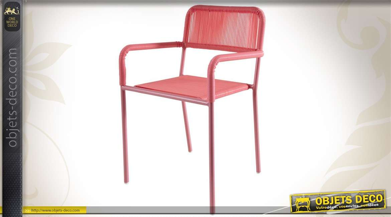 Chaise pour enfant coloris rose