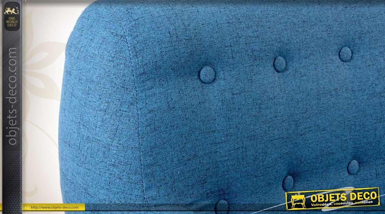 fauteuil scandinave coloris bleu. Black Bedroom Furniture Sets. Home Design Ideas