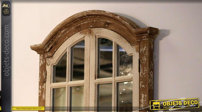 Miroir Mural De Style Vintage En Forme De Fenêtre