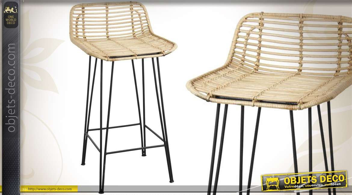 tabouret de bar forme de si ge de tracteur pi tement design 81 cm. Black Bedroom Furniture Sets. Home Design Ideas