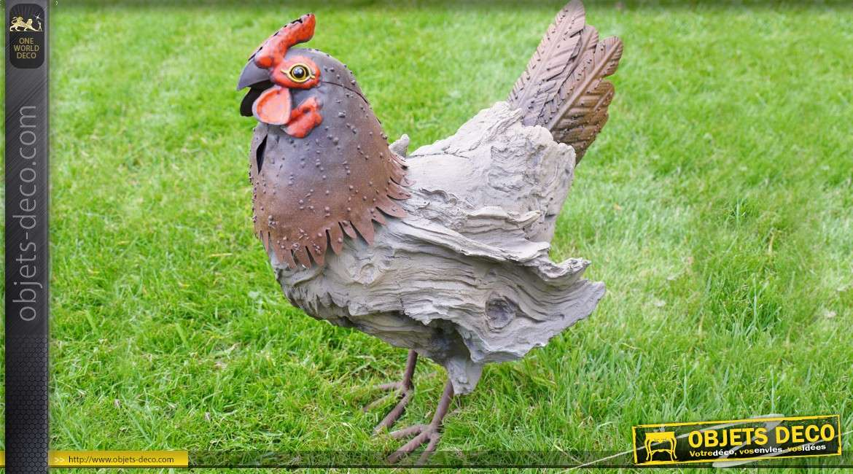 Décoration animalère : la poule