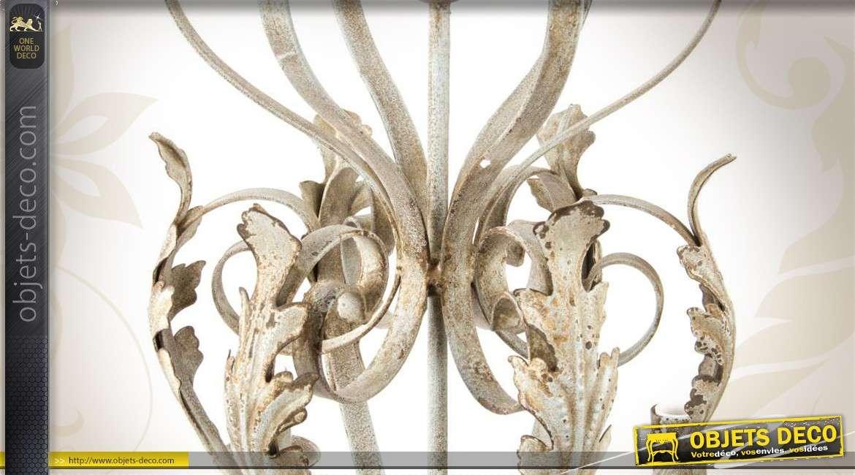 lustre ornemental 6 feux de style ancien. Black Bedroom Furniture Sets. Home Design Ideas