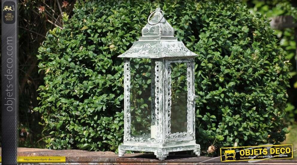 grande lanterne antique 50 cm. Black Bedroom Furniture Sets. Home Design Ideas