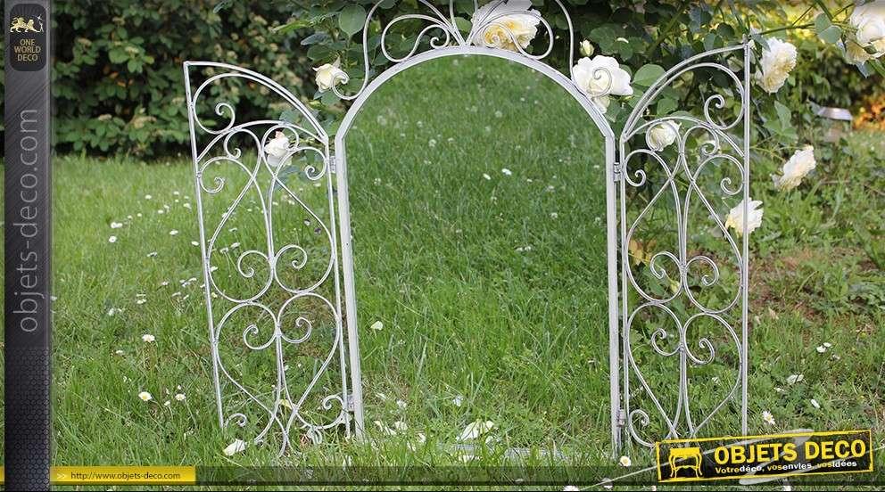 Miroir marquise en fer forg for Prix marquise en fer forge