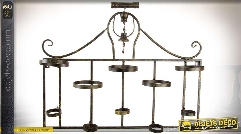 porte bouteille metal mural. Black Bedroom Furniture Sets. Home Design Ideas