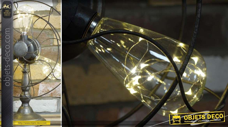 Lampe de style industriel en forme de ventilateur 47 cm